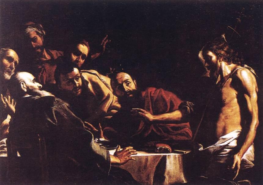St John Reproaching Herod 1662-66   Mattia Preti   Oil Painting