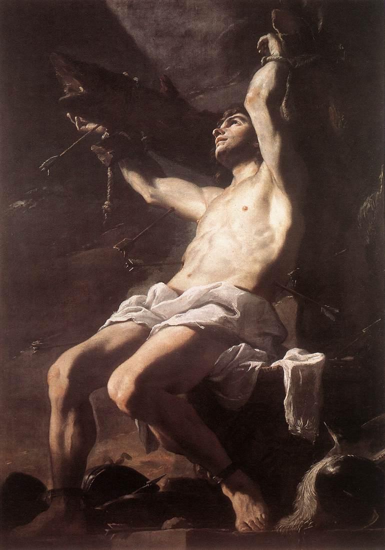 St Sebastian 1660 | Mattia Preti | Oil Painting