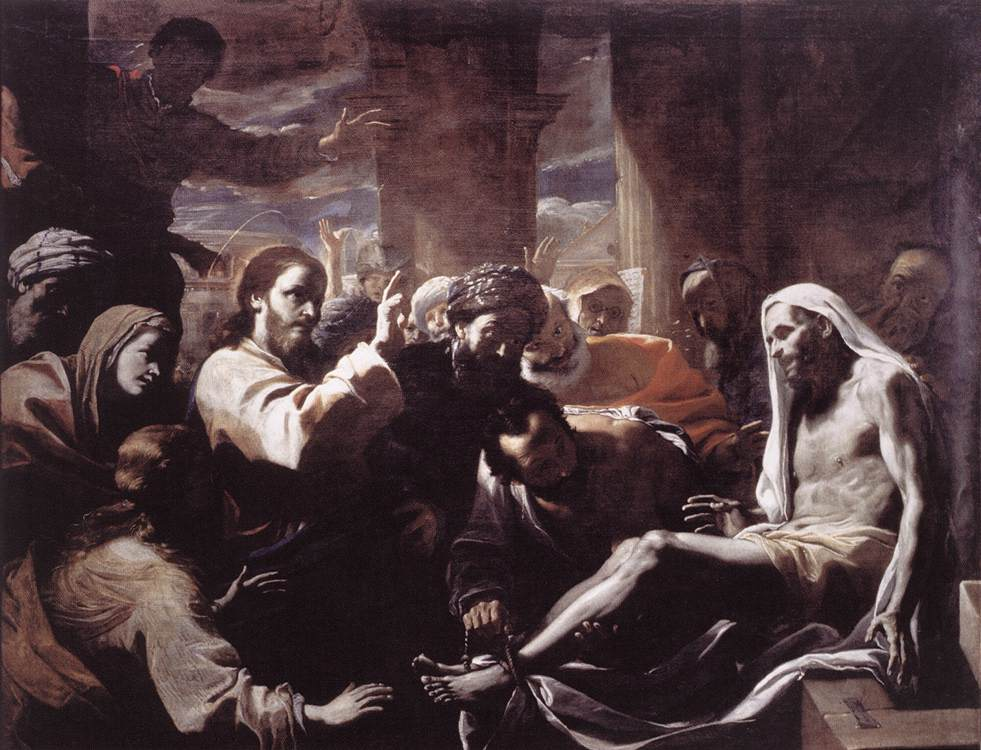 The Raising Of Lazarus 1650s | Mattia Preti | Oil Painting