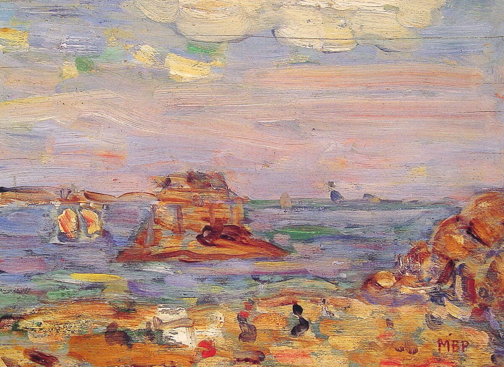 Brittany Coast | Maurice B Prendergast | Oil Painting