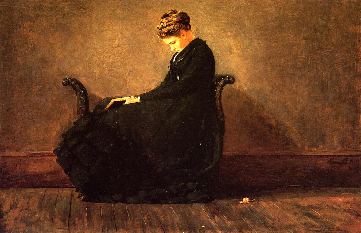 Portrait of Helena de Kay 1871-1872 | Homer Winslow | Oil Painting