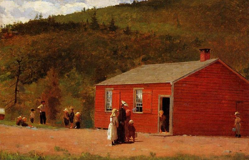 School Time 1874 | Homer Winslow | Oil Painting