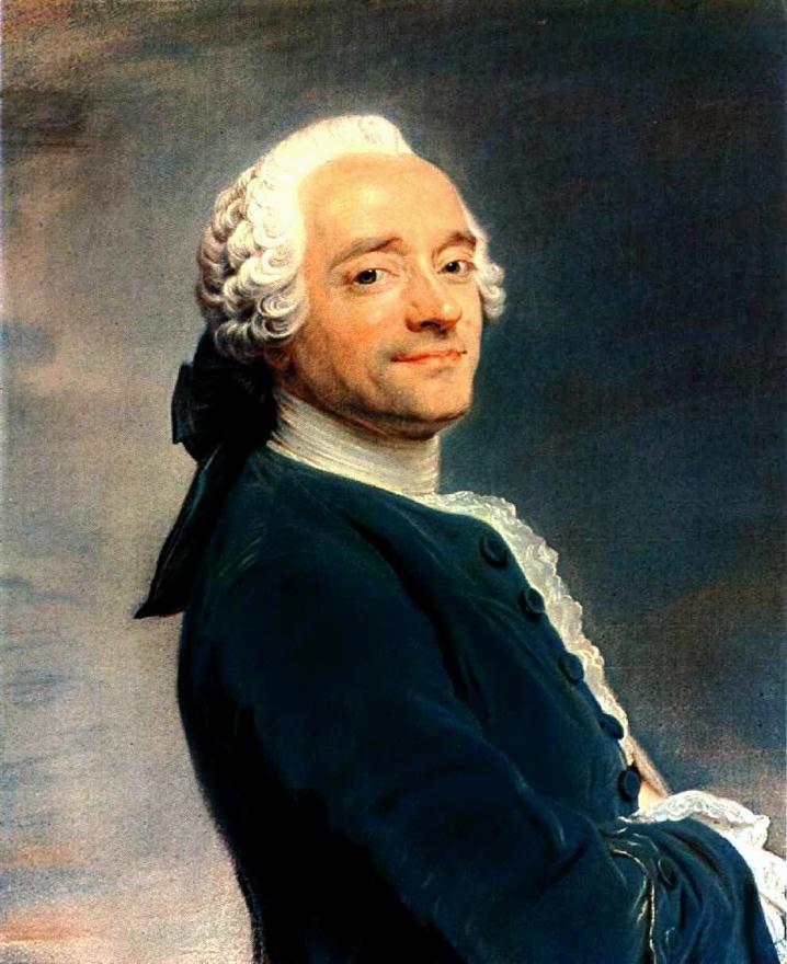 Self Portrait 1751 | Maurice Quentin De La Tour | Oil Painting