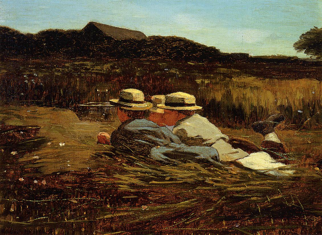 The Bird Catchers 1865 | Homer Winslow | Oil Painting