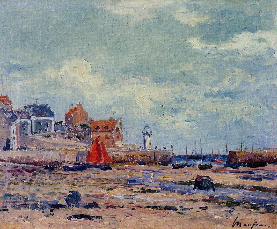 At Low Tide | Maxime Maufra | Oil Painting