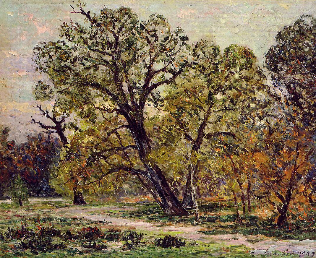 Autumn Fontainebleau Forest 1909 | Maxime Maufra | Oil Painting