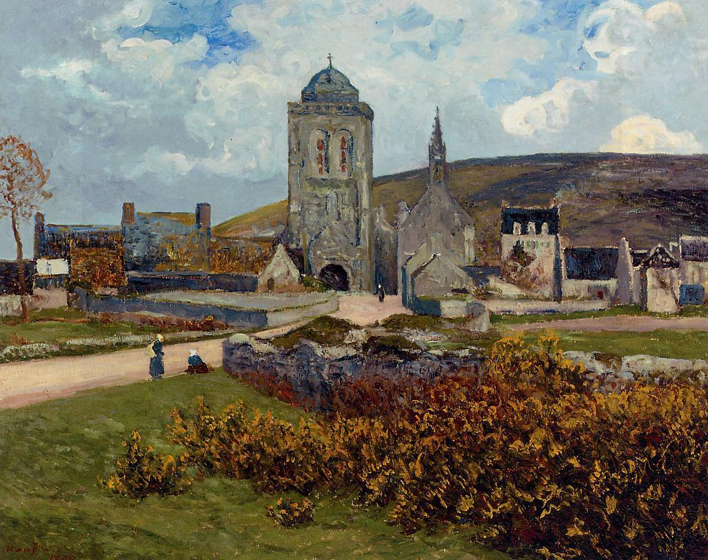 Breton Landscape 1898   Maxime Maufra   Oil Painting