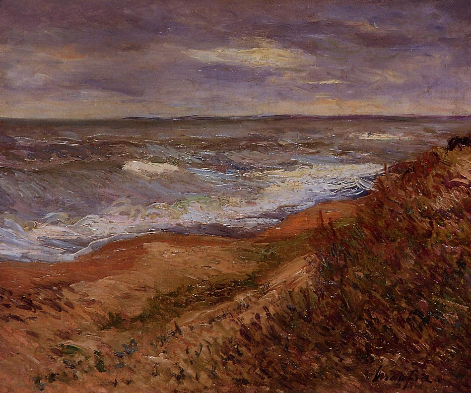 By the Sea | Maxime Maufra | Oil Painting