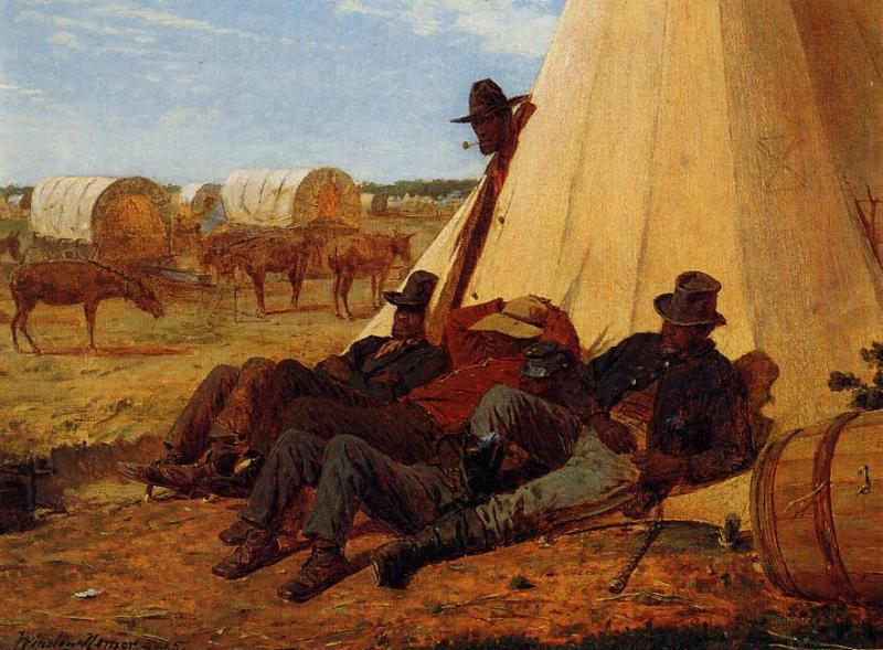The Bright Side 1865 | Homer Winslow | Oil Painting