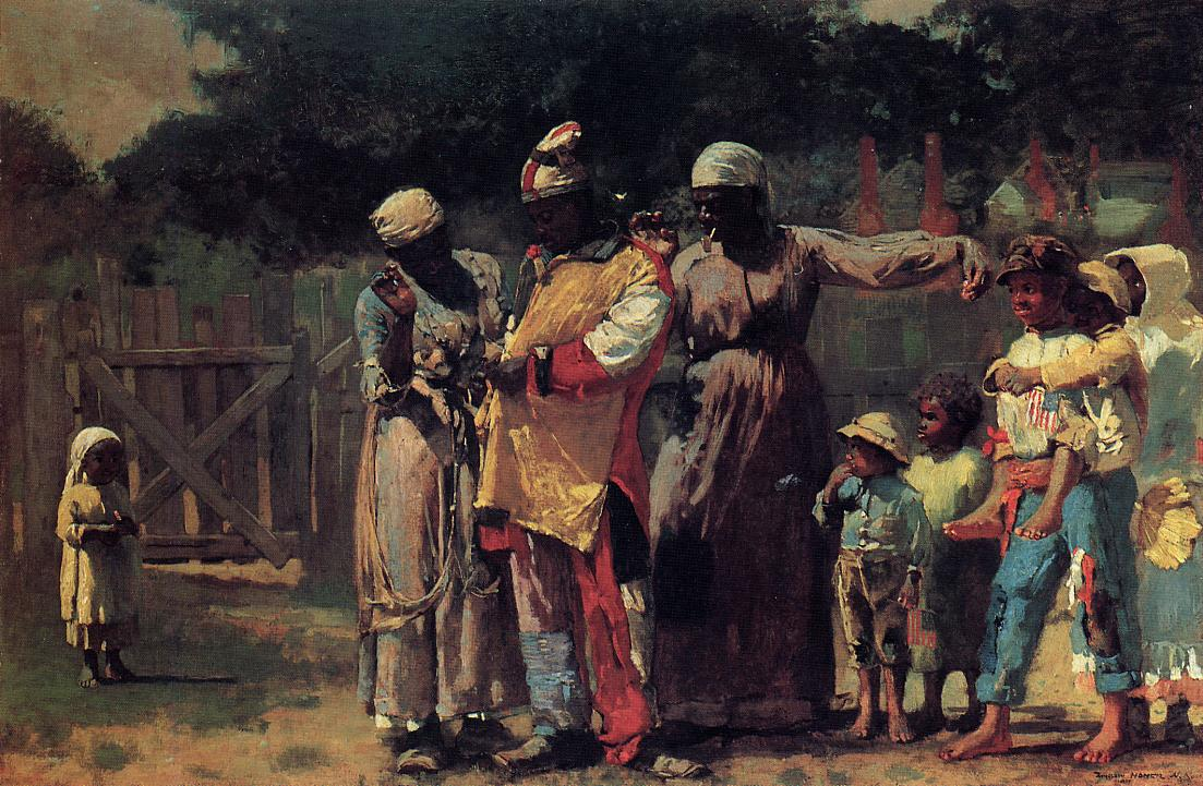 The Carnival (aka Dressing for the Carnival) 1877 | Homer Winslow | Oil Painting