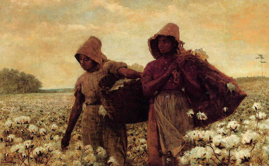 The Cotton Pickers 1876 | Homer Winslow | Oil Painting