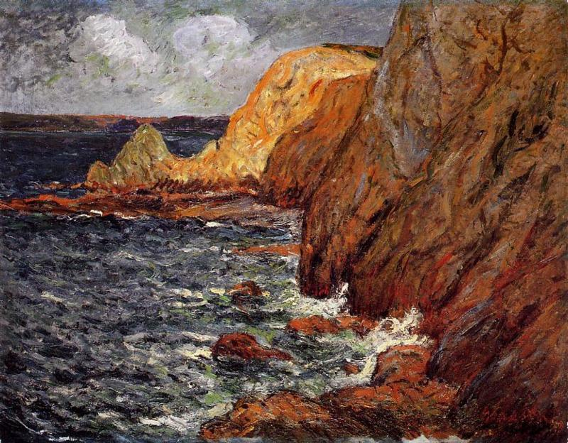 Cliffs | Maxime Maufra | Oil Painting