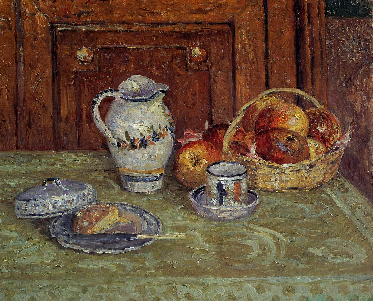 Dessert 1904   Maxime Maufra   Oil Painting