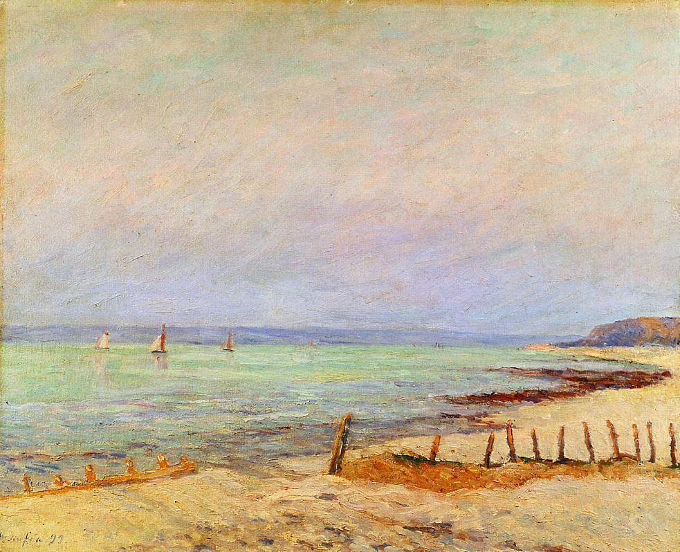Dusk the Mouth of the Seine 1899 | Maxime Maufra | Oil Painting