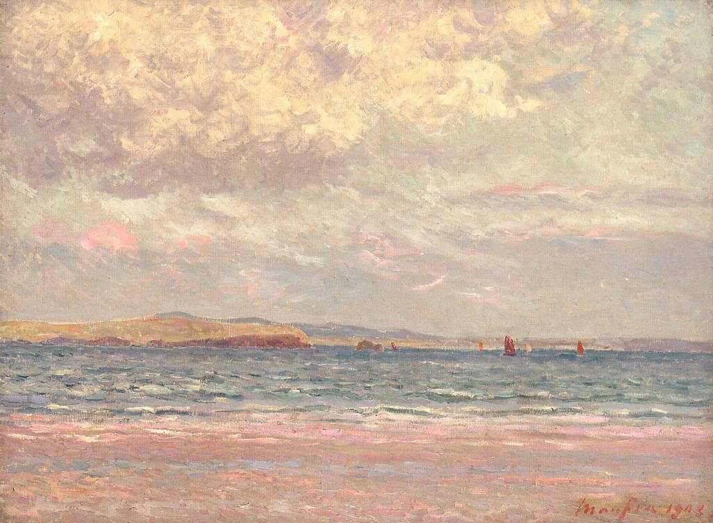 Evening Margat Beach 1902 | Maxime Maufra | Oil Painting