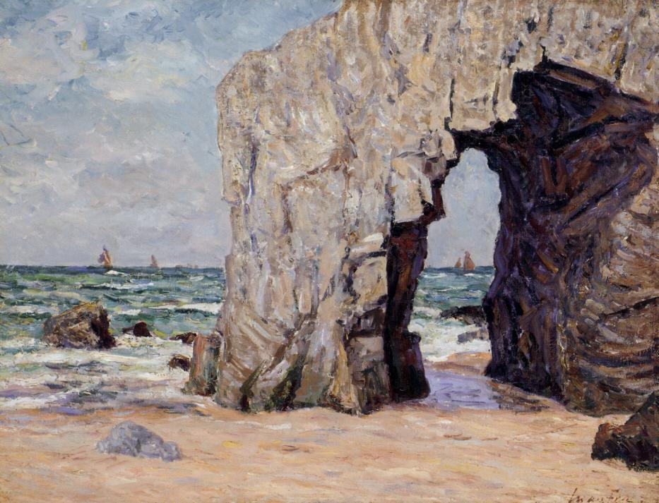 Ile de Brehat 1892   Maxime Maufra   Oil Painting