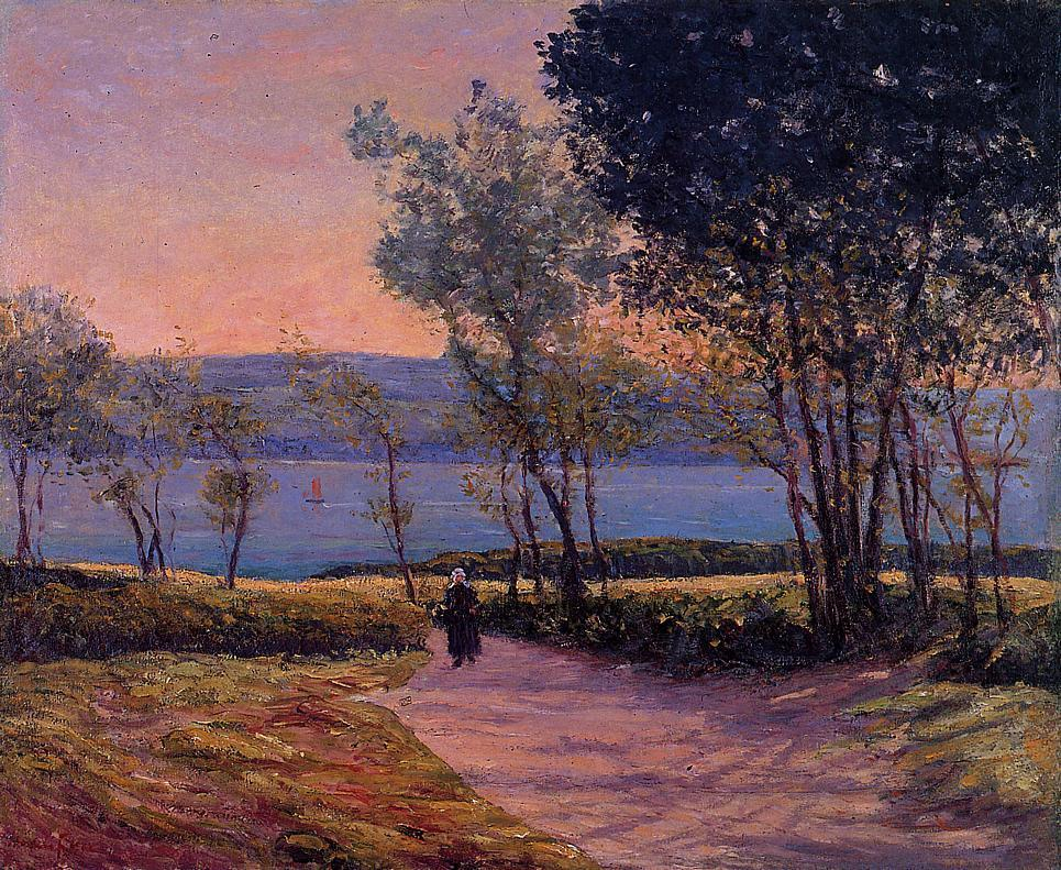 Landscape by the Water 1900 | Maxime Maufra | Oil Painting