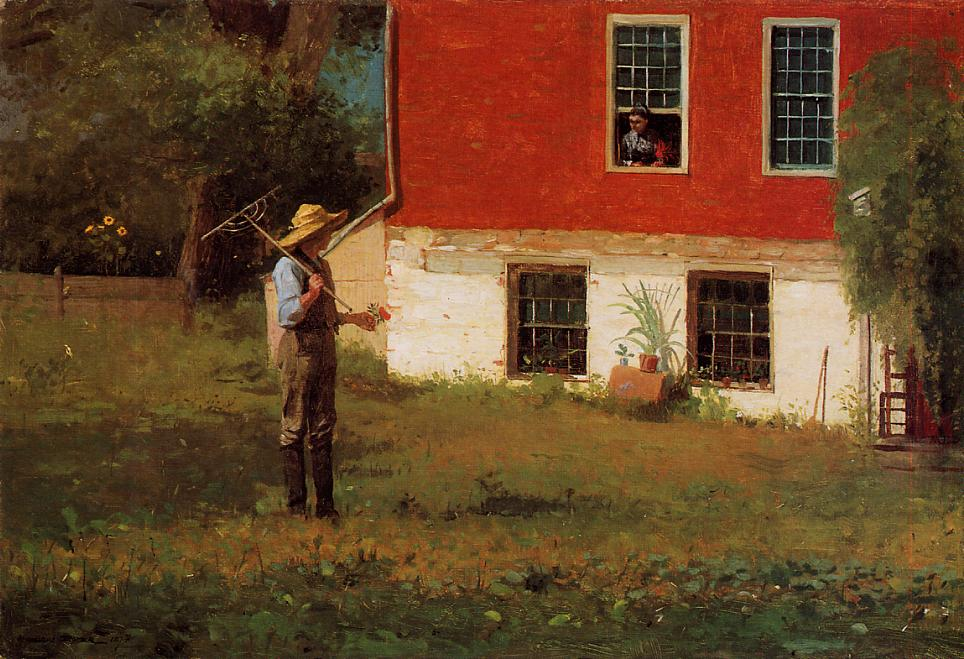 The Rustics 1874 | Homer Winslow | Oil Painting