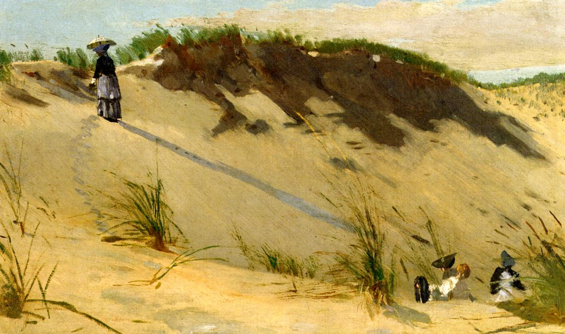 The Sand Dune 1871-1872 | Homer Winslow | Oil Painting