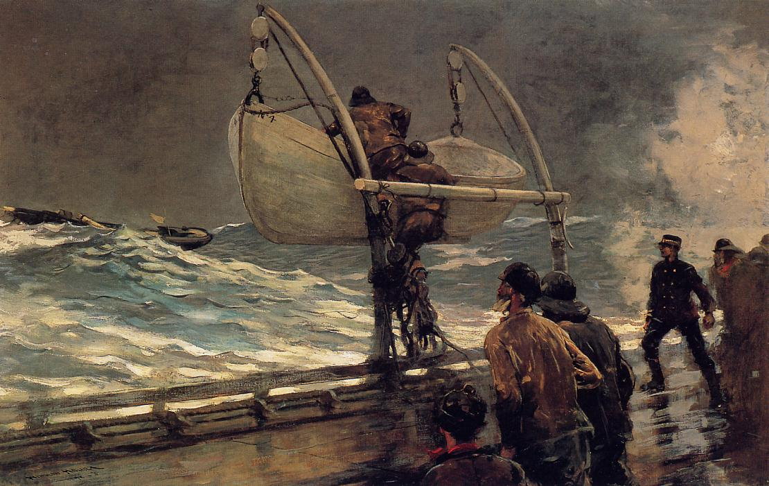 The Signal of Distress 1890-1896 | Homer Winslow | Oil Painting