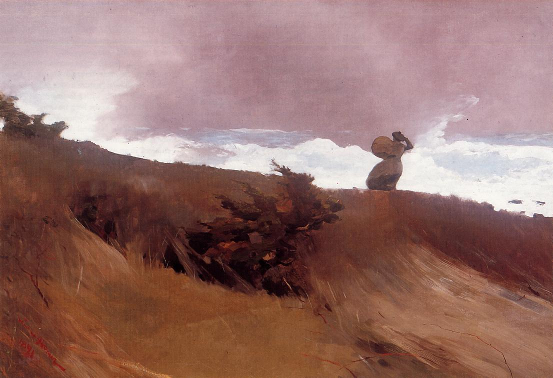 The West Wind 1891 | Homer Winslow | Oil Painting
