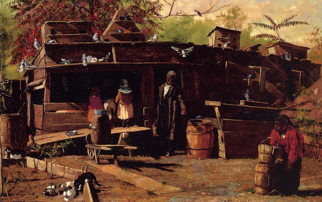 Uncle Ned at Home 1875 | Homer Winslow | Oil Painting