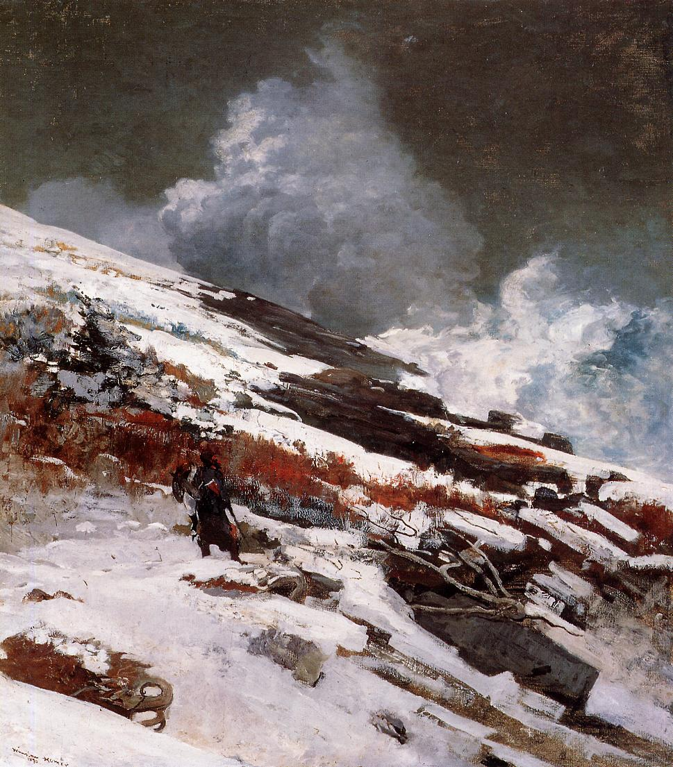 Winter Coast 1890 | Homer Winslow | Oil Painting