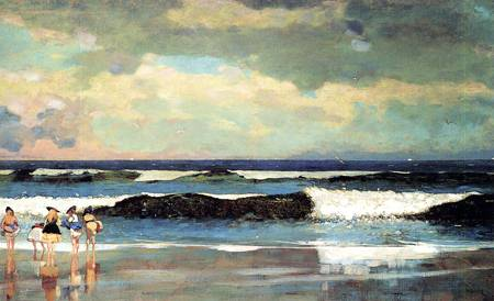 On the Beach (aka On the Beach Long Branch New Jersey) 1869