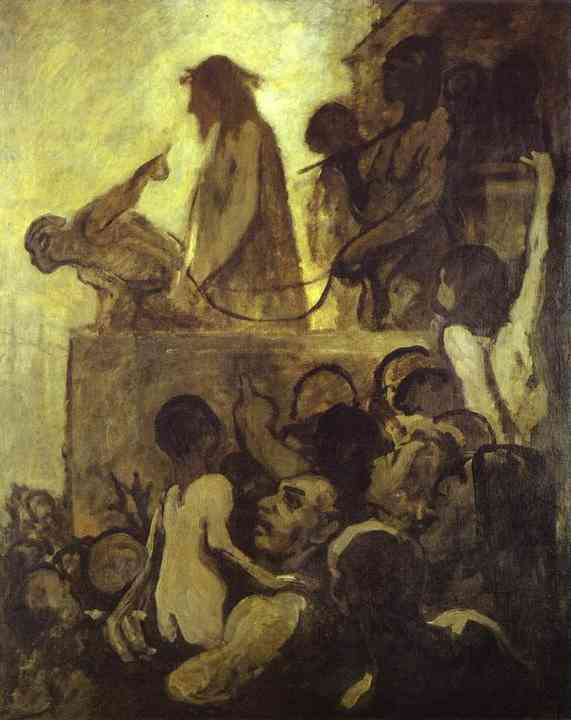 Ecce Homo 1849-52 | Honore Daumier | Oil Painting