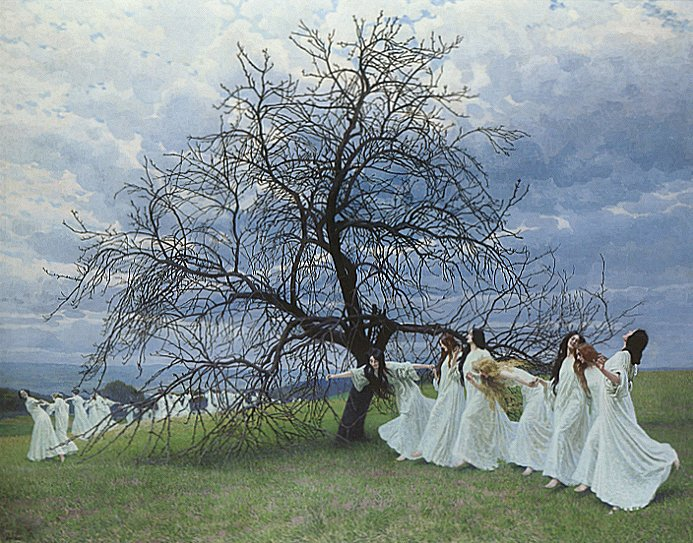 A Song of Spring | Maximillion Lenz | Oil Painting