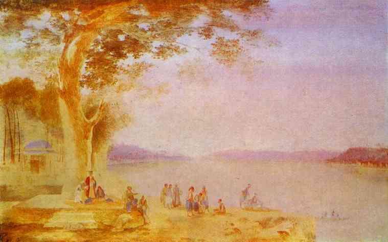 Oriental Landscape 1820-21 | Maxim Vorobiev | Oil Painting