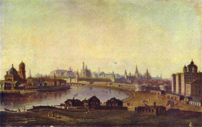View Of Moscow 1810s | Maxim Vorobiev | Oil Painting