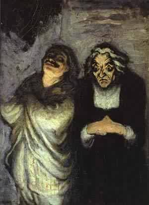 Scapin 1863-65 | Honore Daumier | Oil Painting