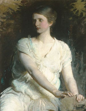 Young Woman 1898 | Abbott H Thayer | Oil Painting