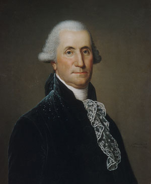 George Washington 1795 | Adolph Ulrich Wertmuller | Oil Painting