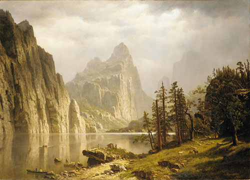 Merced River Yosemite Valley 1866 | Albert Bierstadt | Oil Painting