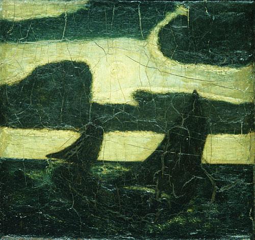 Moonlight Marine 1870 | Albert Pinkham Ryder | Oil Painting