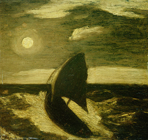 The Toilers of the Sea 1880 | Albert Pinkham Ryder | Oil Painting