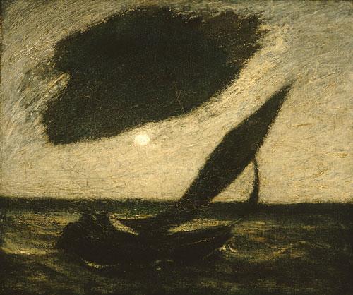 Under a Cloud 1900   Albert Pinkham Ryder   Oil Painting