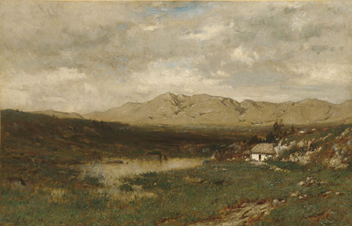 View in County Kerry 1875 | Alexander H Wyant | Oil Painting