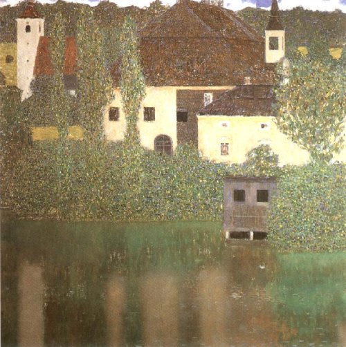 Schloss Kammer on the Attersee I 1910