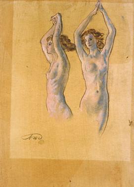 Nude Studies | Arthur B Davies | Oil Painting