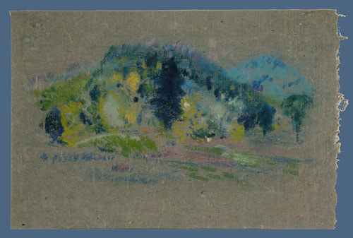 Spring Landscape   Arthur B Davies   Oil Painting