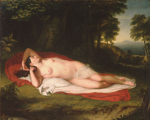 Ariadne 1831 | Asher B Durand | Oil Painting