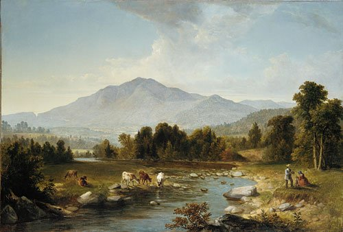 High Point Shandaken Mountains 1853 | Asher B Durand | Oil Painting