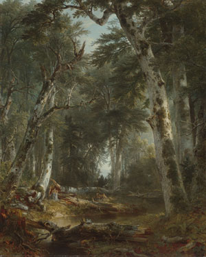 In the Woods 1855 | Asher B Durand | Oil Painting