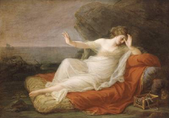 Ariadne Abandoned by Theseus 1774 | Angelica Kauffman | Oil Painting
