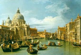 The Entrance to the Grand Canal Venice 1730 | Canaletto | Oil Painting