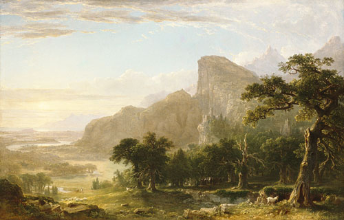 Landscape Scene from Thanatopsis 1850 | Asher B Durand | Oil Painting