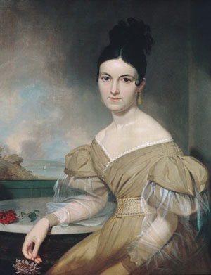 Mrs Winfield Scott 1831 | Asher B Durand | Oil Painting